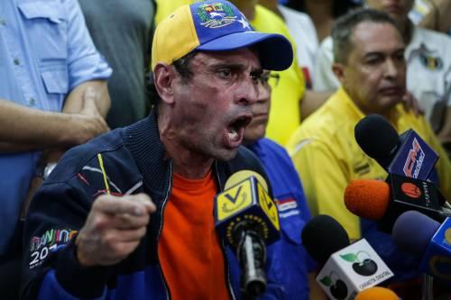 Duri scontri in Venezuela 3