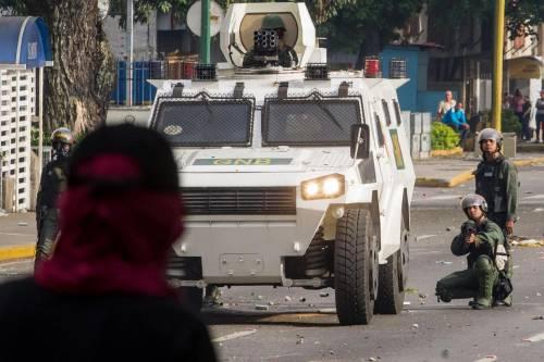 Duri scontri in Venezuela 6