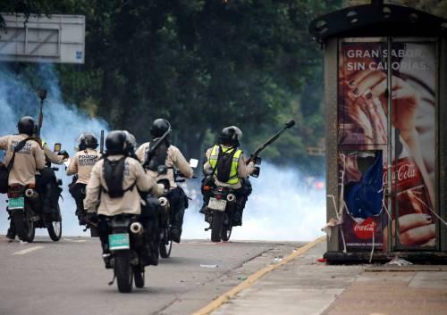 Duri scontri in Venezuela 7