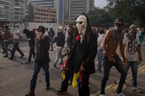 Duri scontri in Venezuela 8