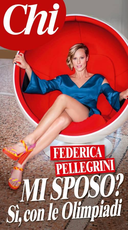 """Federica Pellegrini cambia idea: """"Mi sposo? Sì ma con le olimpiadi"""""""