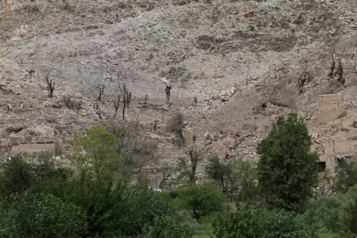 Ecco cosa resta dopo l'esplosione della Moab 7