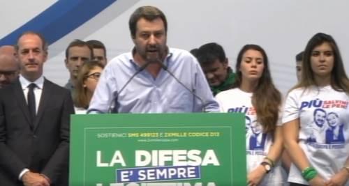 """Migranti, Salvini al governo """"Fuori il dossier scafisti-Ong"""""""