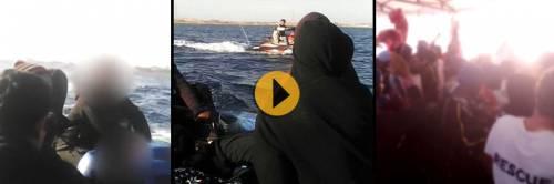 """""""Così gli scafisti scortano i migranti fino alle navi delle Ong"""""""