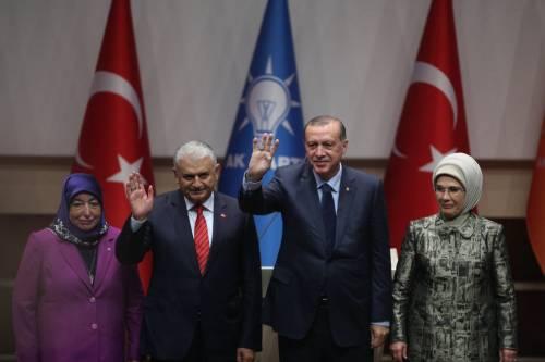 """Erdogan si """"riprende"""" il partito"""