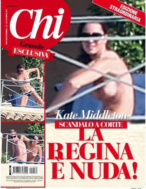 """Foto """"rubate"""" in topless, Kate chiede risarcimento milionario alla rivista"""