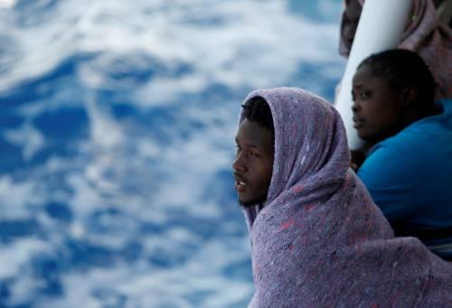 Sulla nave della Moas i volti della disperazione