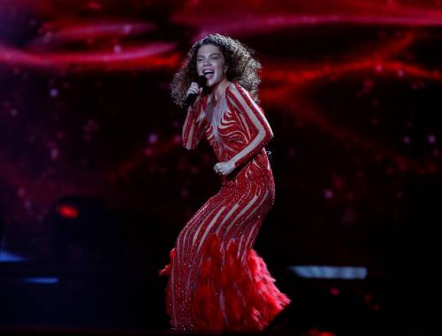 Eurovision Song Contest 2017, i look sexy alle prove 8