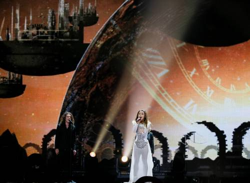 Eurovision Song Contest 2017, i look sexy alle prove 9