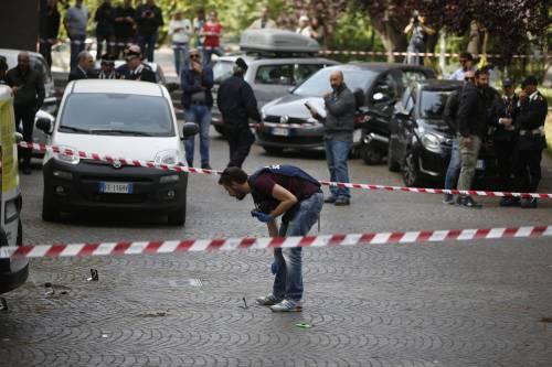 Roma, esplosione in strada: ordigno rudimentale nel parcheggio delle Poste 9