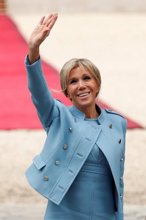 Brigitte Macron come Michelle Obama: ora vuole l'orto all'Eliseo