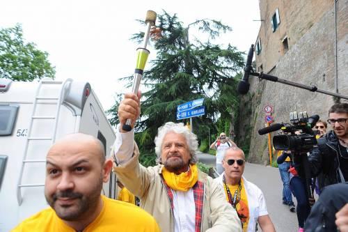 Beppe Grillo in marcia per il reddito di cittadinanza 4