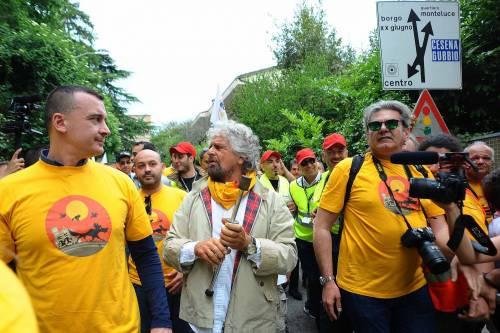 Beppe Grillo in marcia per il reddito di cittadinanza 7