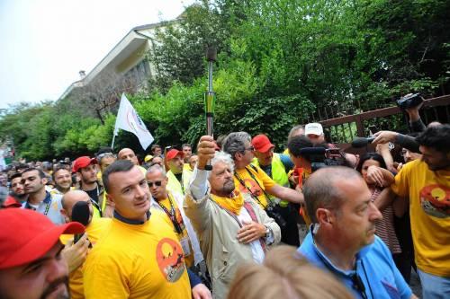 Beppe Grillo in marcia per il reddito di cittadinanza 12