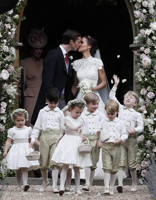 Pippa Middleton e James Matthews hanno detto sì 2