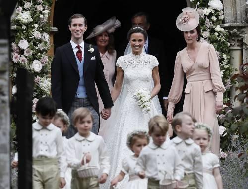 Pippa Middleton e James Matthews hanno detto sì 4