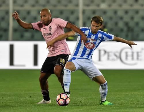 Il Pescara chiude con una vittoria in casa: il Palermo va ko 2-0