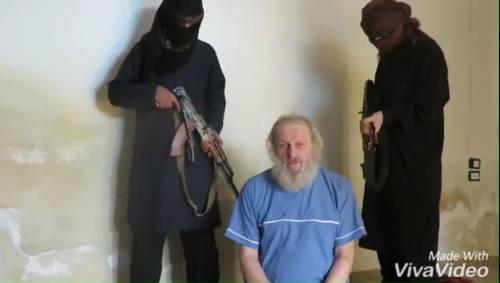 Nuovo appello video di Sergio Zanotti, l'imprenditore italiano rapito in Siria