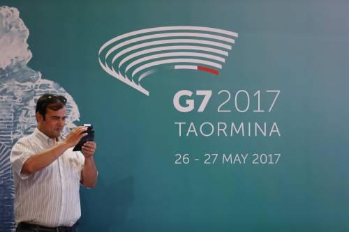 Oggi si apre il G7 di Taormina