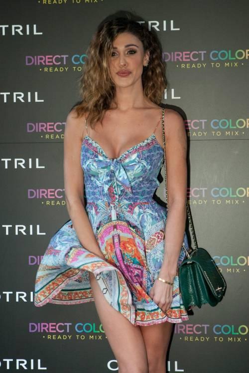 Belen Rodriguez, buongiorno in lingerie 26