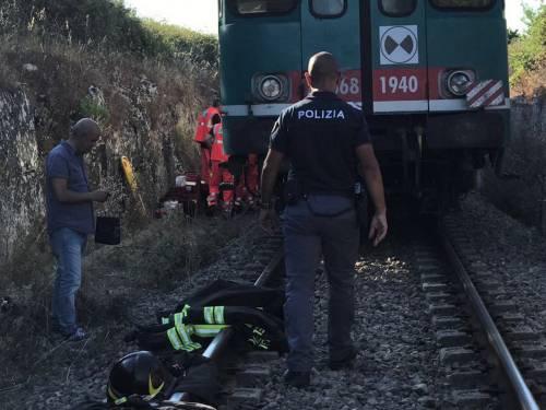 Scontro tra treni nel Salento: incidente su una linea a binario unico