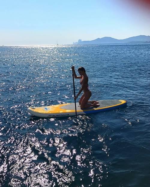 Belen Rodriguez sexy a Ibiza 3