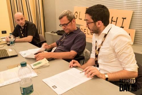 I candidati al Reporter Day 3