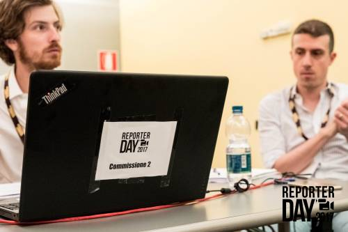I candidati al Reporter Day 5