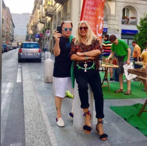 Paolo Limiti, Justine Mattera e Mara Venier: foto 6