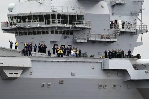 La Queen Elizabeth prende il mare 3