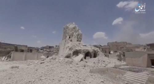 Mosul, la distruzione della grande moschea di al Nuri 4