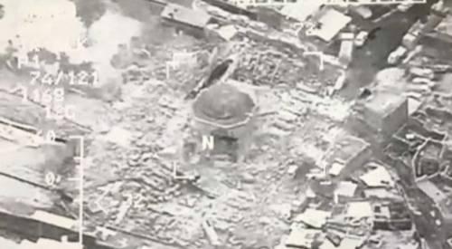Mosul, la distruzione della grande moschea di al Nuri 2