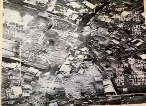 Mosul, la distruzione della grande moschea di al Nuri 3