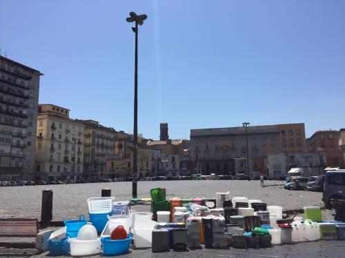 Napoli, il porto e il quartiere Mercato 2