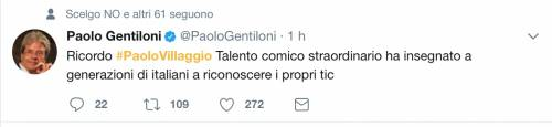 Paolo Villaggio, il messaggio dei vip 22