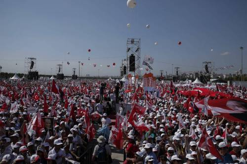 Istanbul, la marcia per la giustizia in Turchia 11