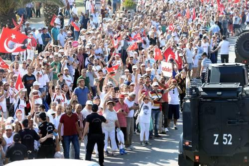 Istanbul, la marcia per la giustizia in Turchia 8