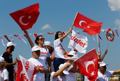 Istanbul, la marcia per la giustizia in Turchia 3