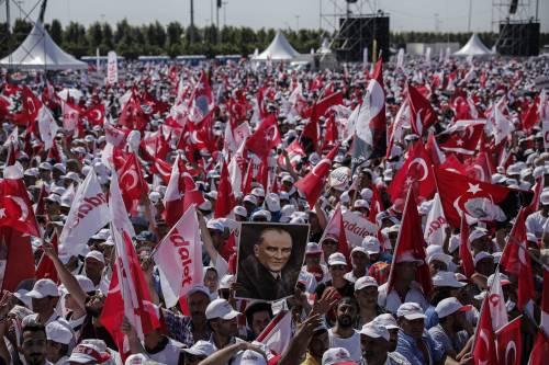 Istanbul, la marcia per la giustizia in Turchia 2