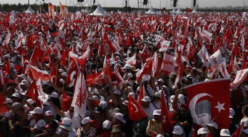 Istanbul, la marcia per la giustizia in Turchia 16