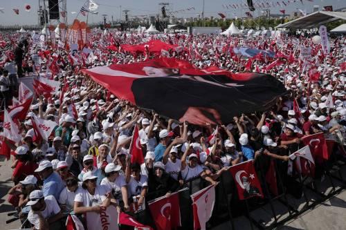 Istanbul, la marcia per la giustizia in Turchia 17