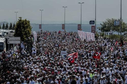 Istanbul, la marcia per la giustizia in Turchia 14