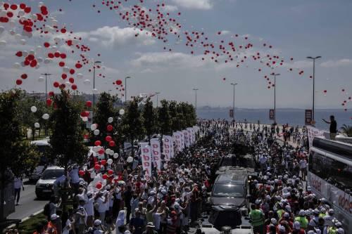 Istanbul, la marcia per la giustizia in Turchia 4
