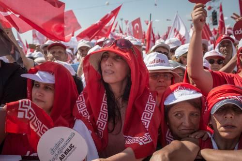 Istanbul, la marcia per la giustizia in Turchia 7