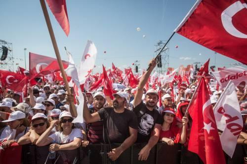 Istanbul, la marcia per la giustizia in Turchia 20