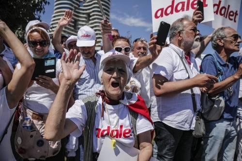 Istanbul, la marcia per la giustizia in Turchia 5