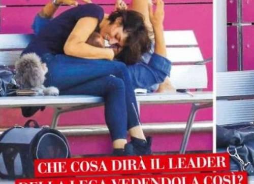 Elisa Isoardi a Ibizia con l'avvocato romano 2