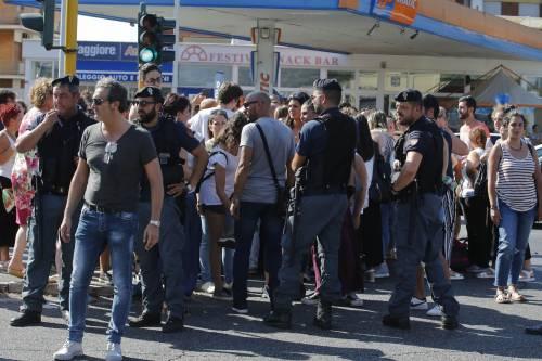 Protesta dei candidati a Roma 4