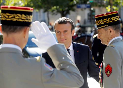 Macron sta sereno
