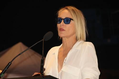 Madonna e Sharon Stone: sexy dive a confronto 21